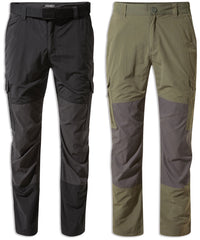 Craghoppers NosiLife Pro Adventure Trousers | Black Black Pepper, Mid Khaki Black Pepper