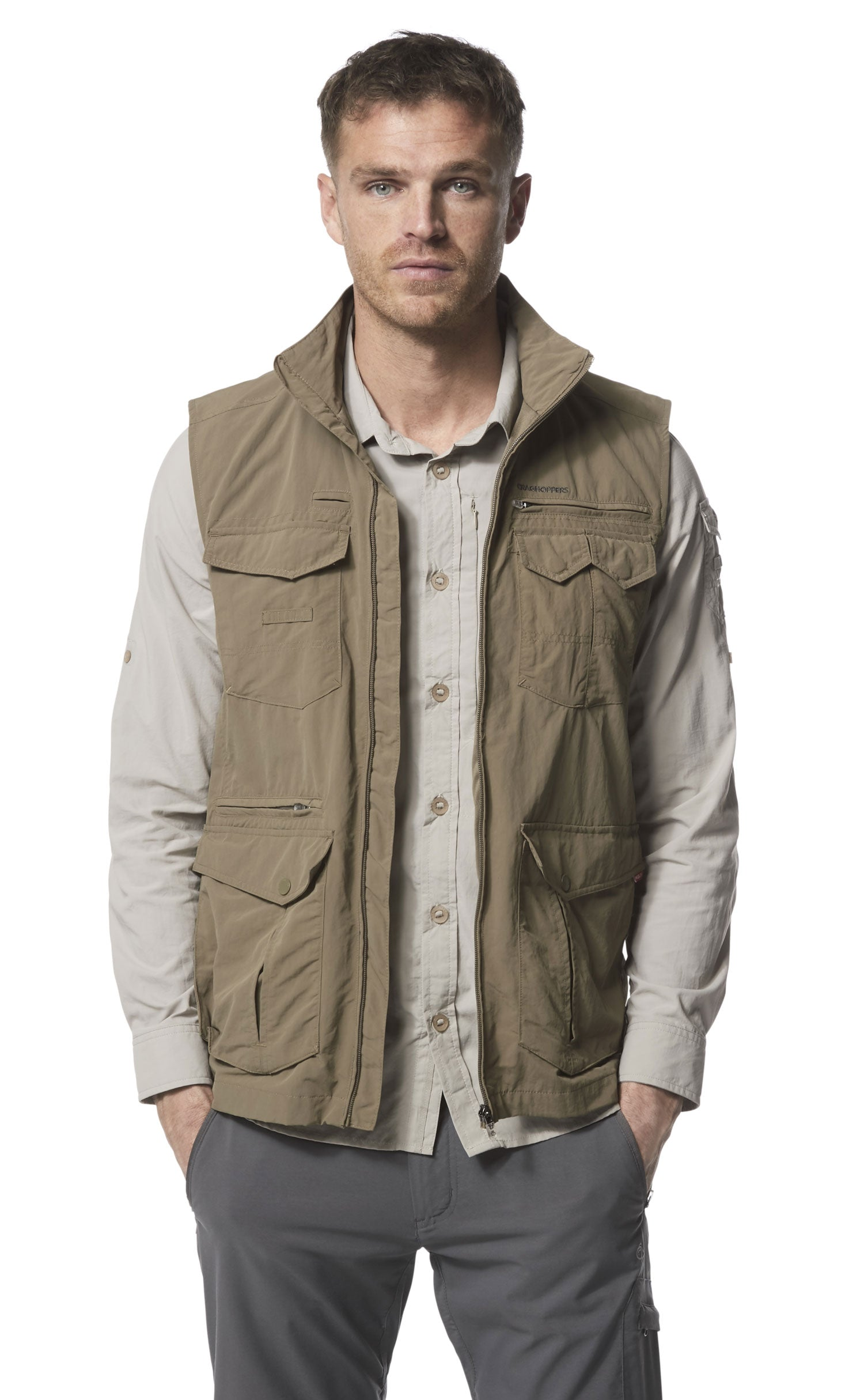 Adventure II Multi-pocket Gilet by Craghoppers