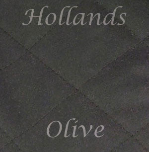 olive waxed cotton colour swatch