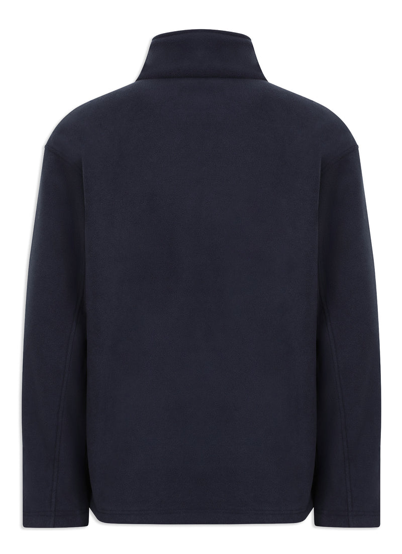Back view Navy Champion Otley Fleece Jacket