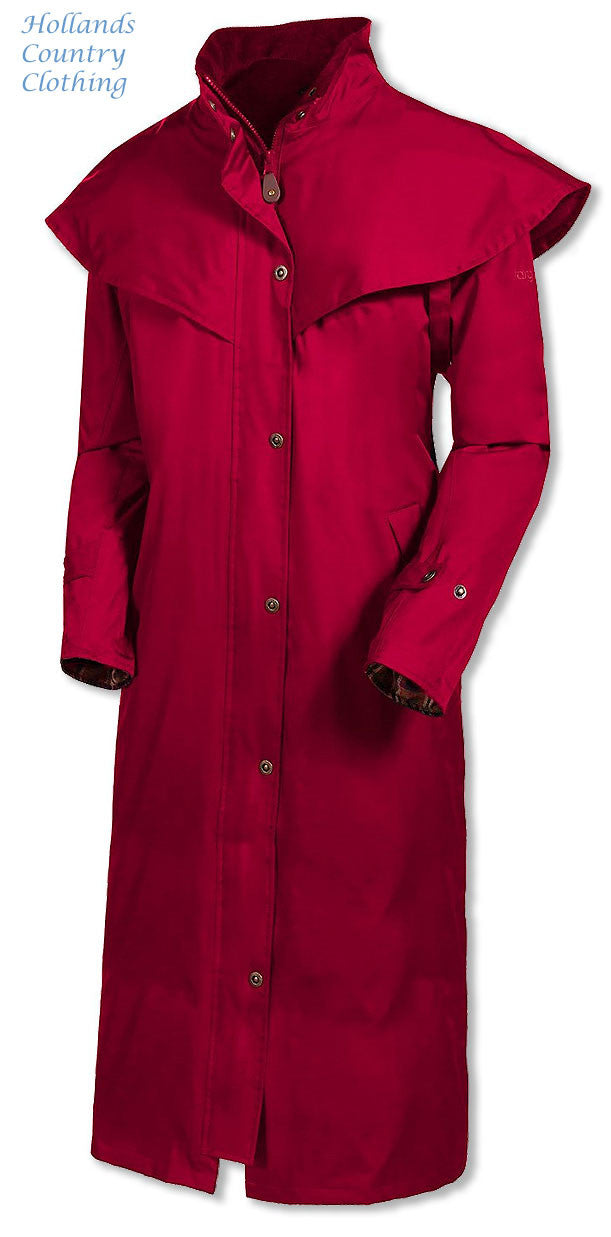 jester red Target Dry Outback 2 Full Length Long Waterproof Coat.