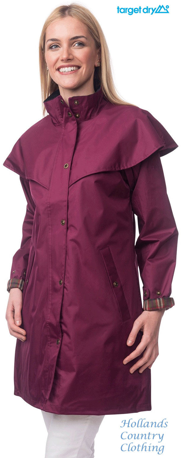 mulberry Target Dry Outrider 2 Three Quarter Length Waterproof Coat