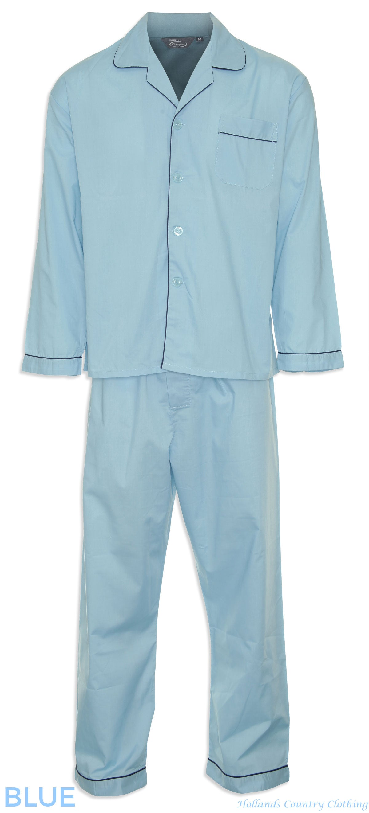pale blue Champion Classic Oxford Pyjamas