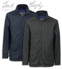Jack Murphy Christian Waxed Cotton Jacket in two colours