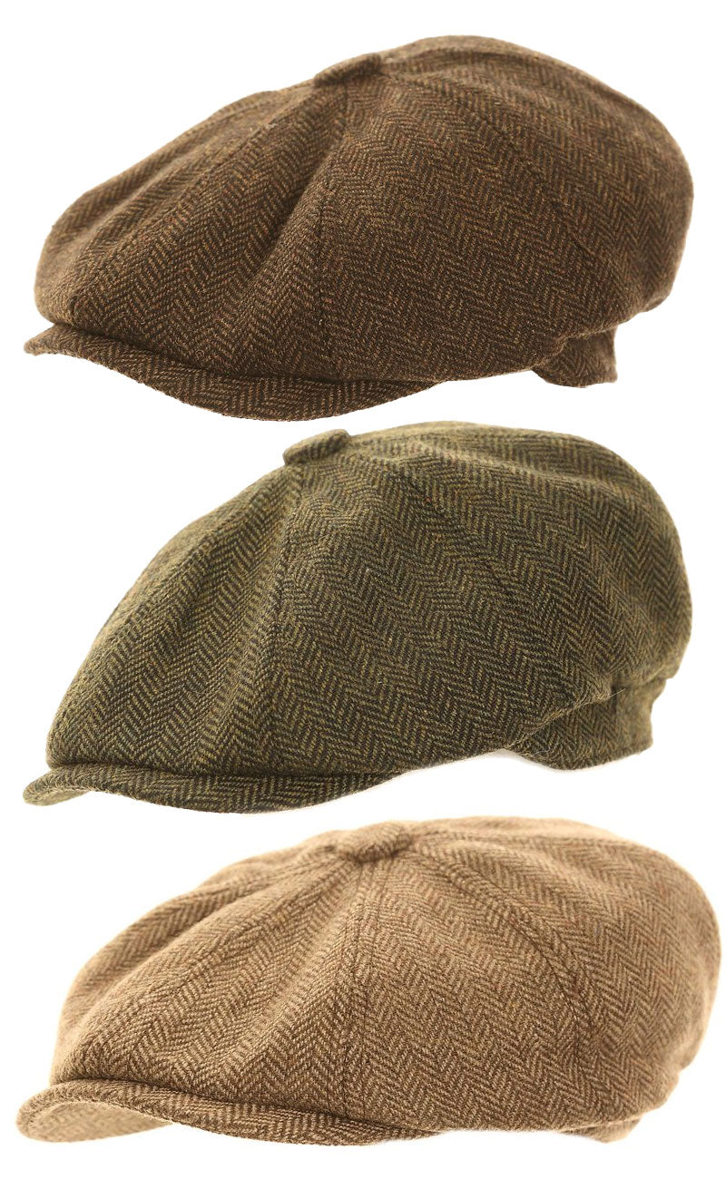 Hawkins Eight Panel Button Cap – Hollands Country Clothing 2dbed98f950