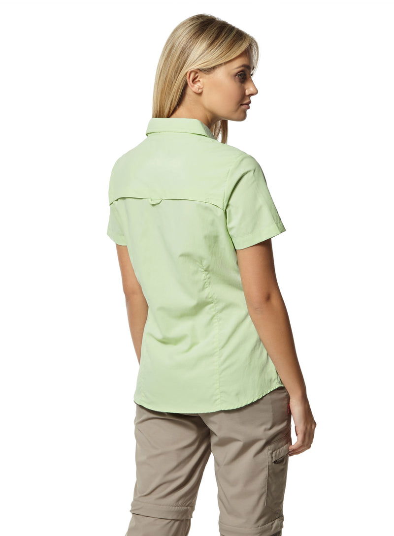 Pistachio Ladies Adventure Short Sleeve Shirt II by Craghoppers