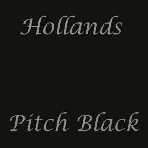 pitch black colour swatch