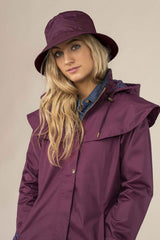 plum Lighthouse Rainwear - Ladies Storm Hat