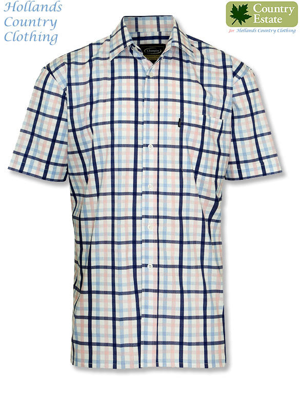 check summer shirt Champion Prestwick Short Sleeved Shirt