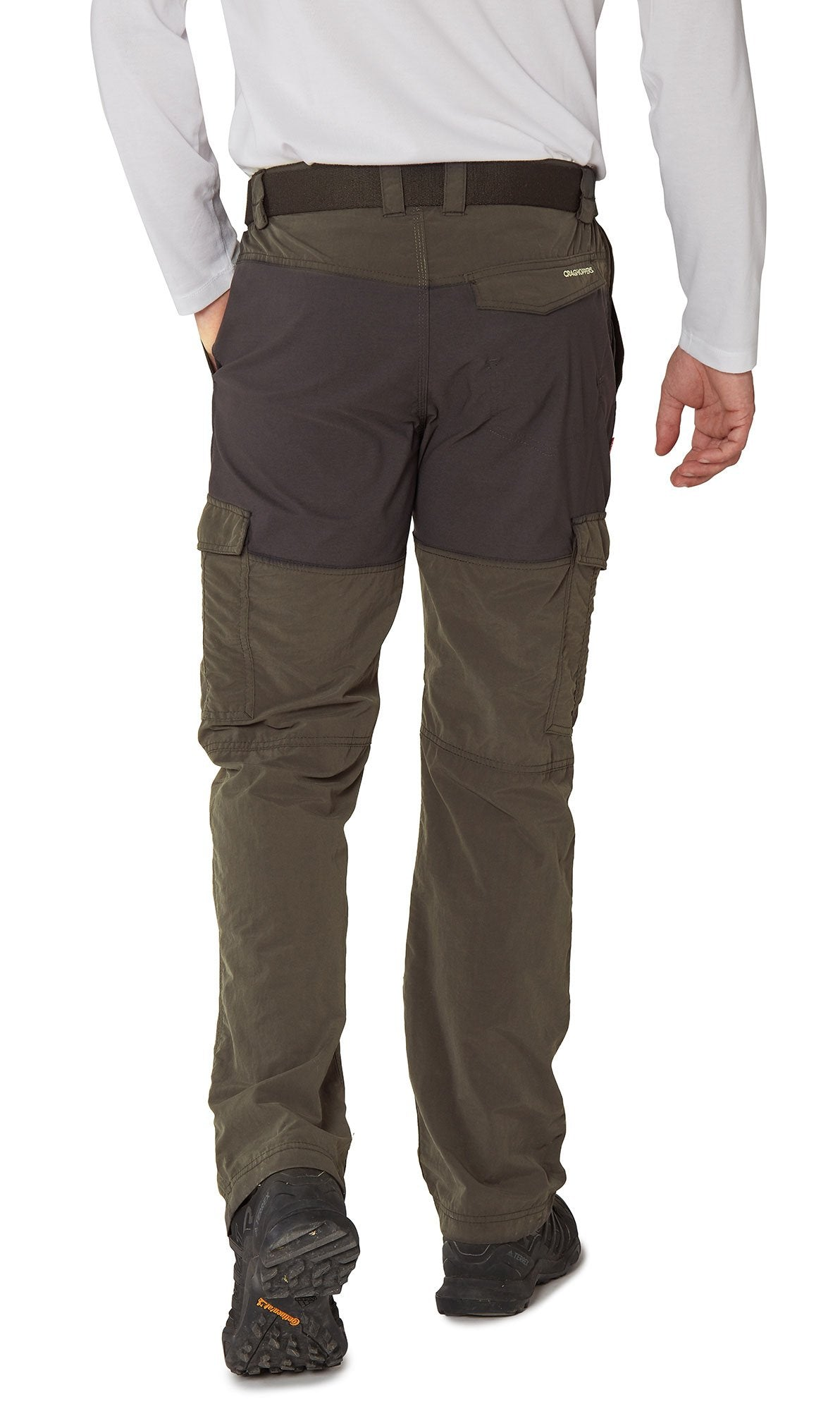 back view Men's NosiLife Pro Adventure Trousers by Craghoppers