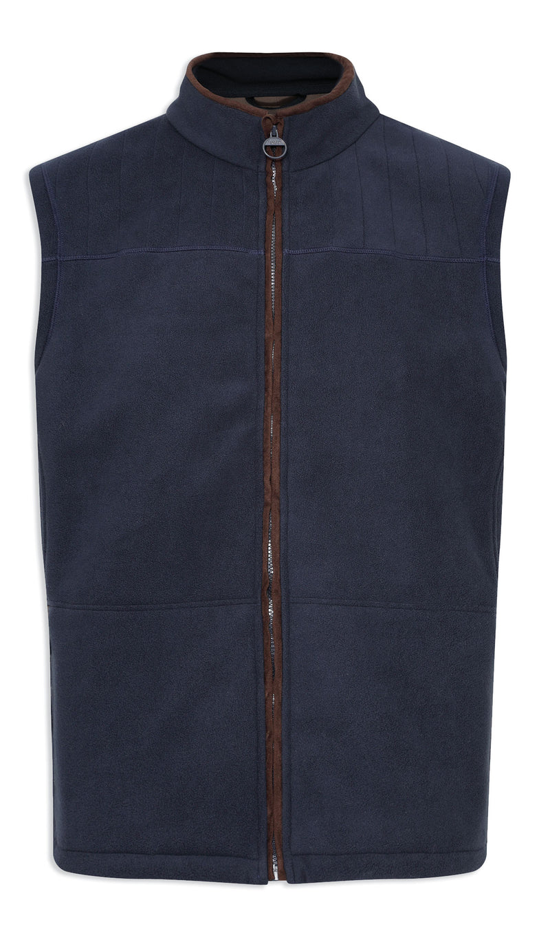 Champion Portree Micro Fleece Bodywarmer in navy