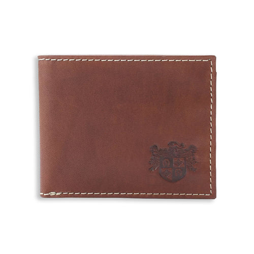 British Bag Company Pull Up Brown Leather Wallet