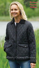 Aylesbury Black Quilted Jacket Champion 1602