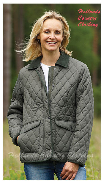 Aylesbury Olive Quilted Jacket Champion 1602.