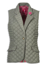 green Jack Murphy Esme Quilted Gilet