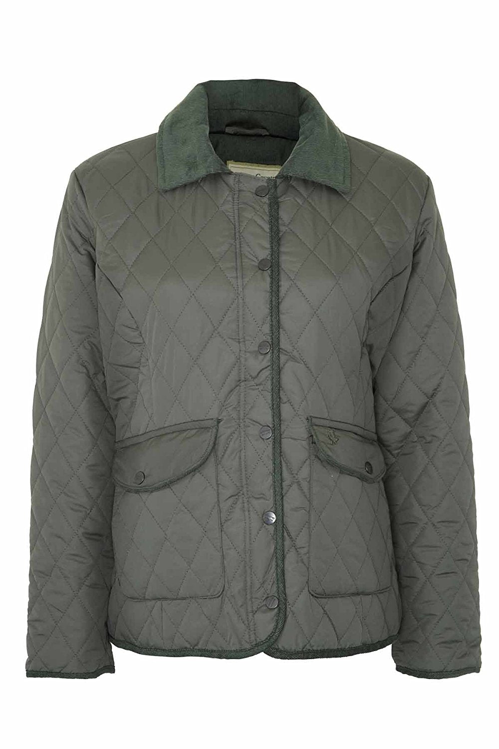 Champion Aylesbury Quilted Jacket | Black, Olive, Red, Plum