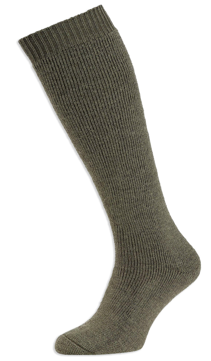 Green HJ Hall Rambler Long Cushioned Wool Sock