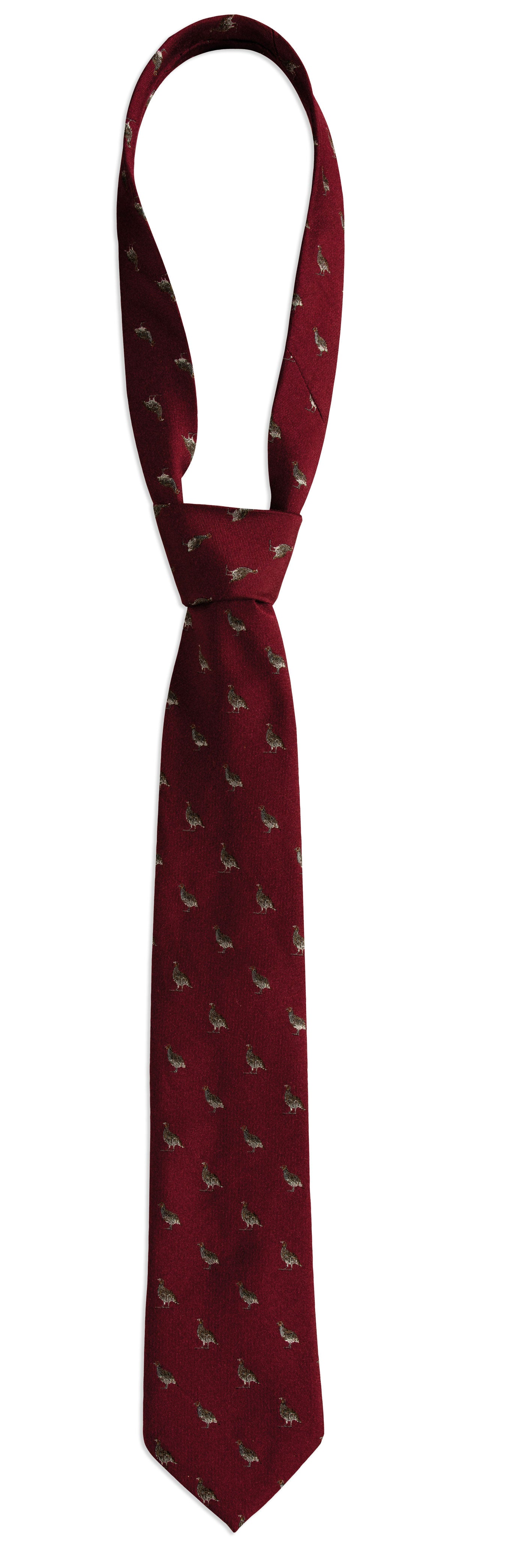 red Deerhunter Pheasant Silk/Wool Tie