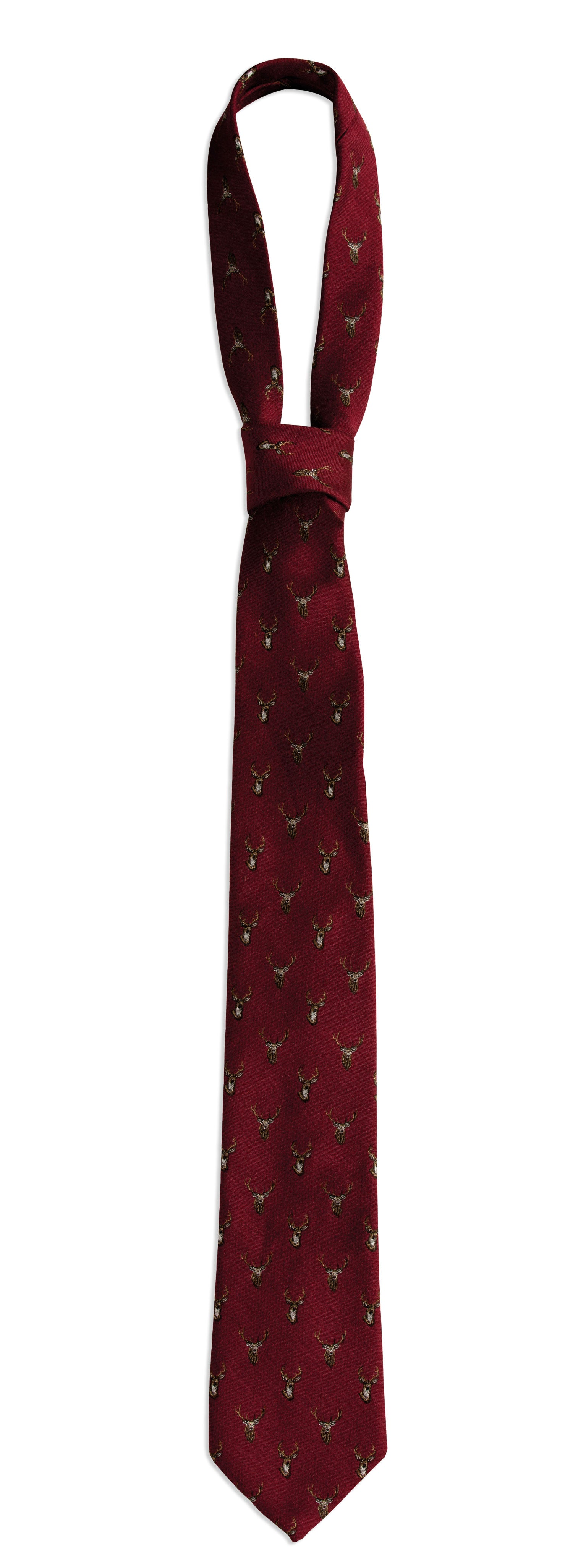 Deerhunter Stag Silk/Wool Tie