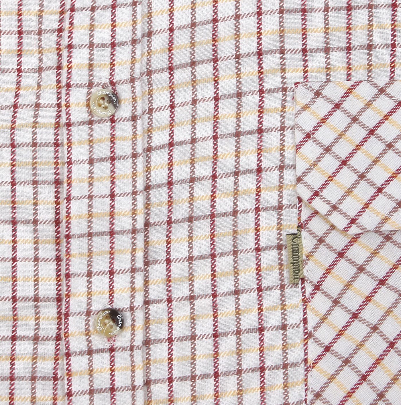 red tattersall check