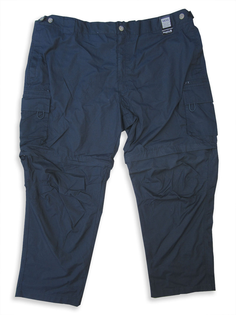 Regatta OS V Zip-Off Leg Trousers navy