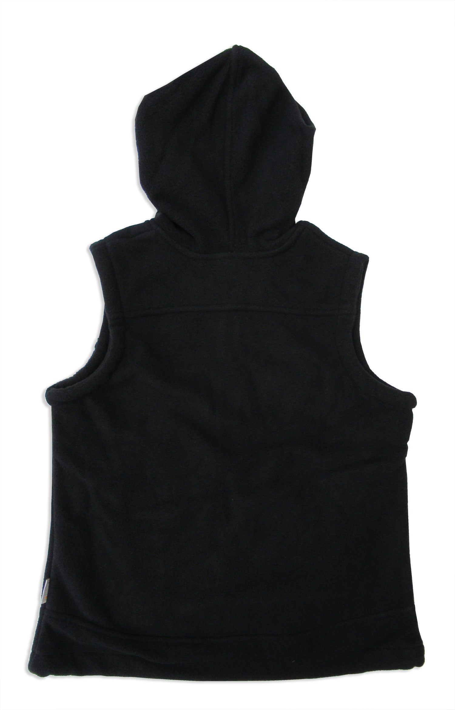 regatta ladies black hooded fleece gilet lora