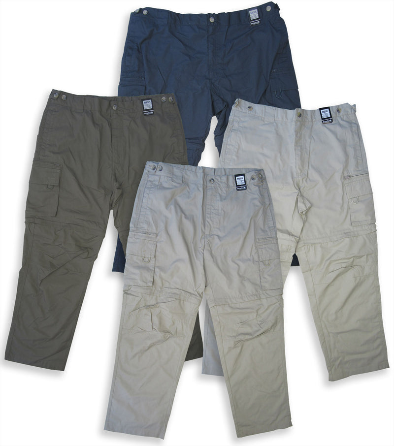Regatta OS V Zip-Off Leg Trousers in four colours