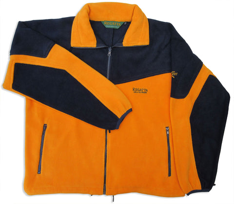 Saturn Exert Superfleece by Regatta orange and navy