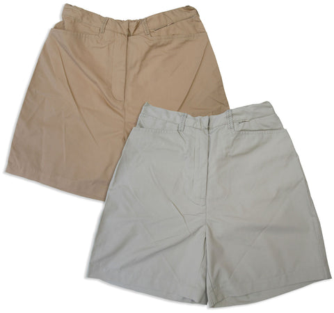 Regatta Ladies Multi-Pocket Shorts in stone beige and rafia