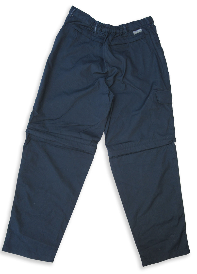 rear view navy walking trouser