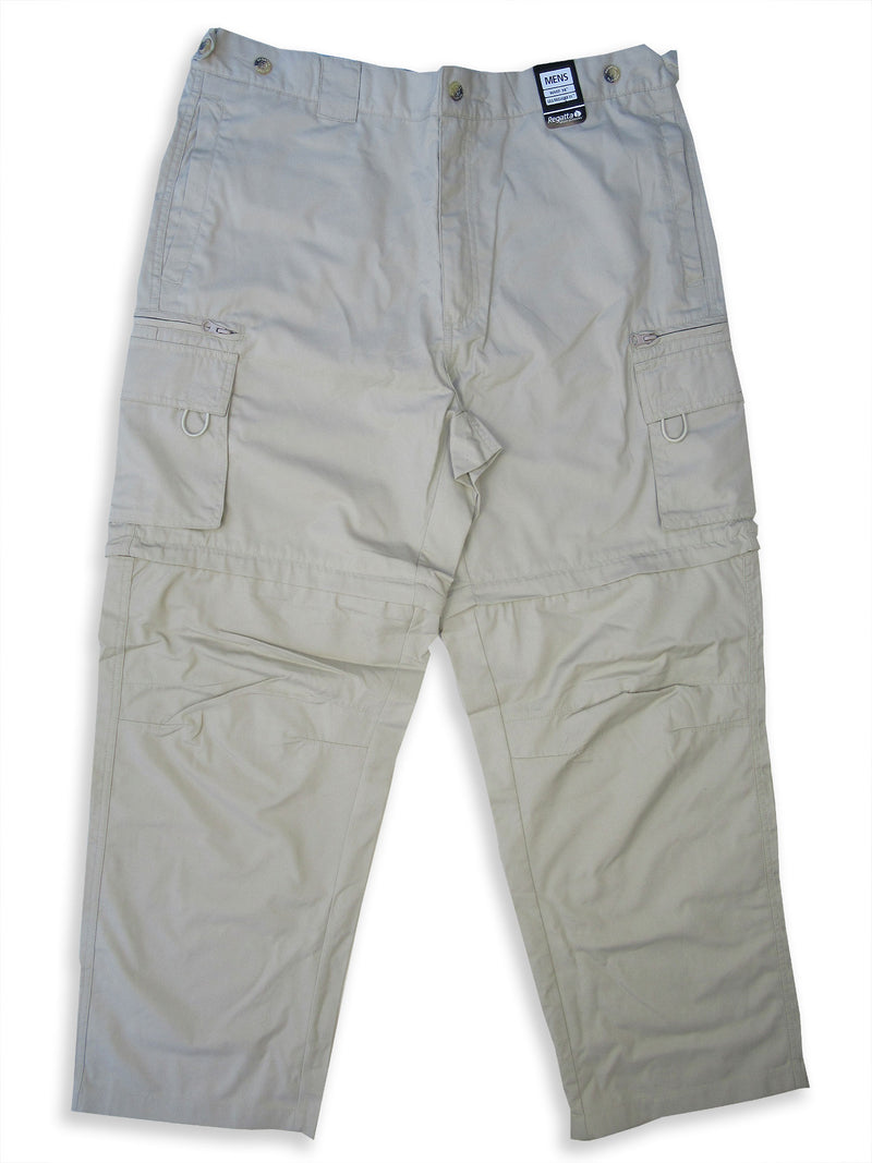 Regatta OS V Zip-Off Leg Trousers putty turns into shorts