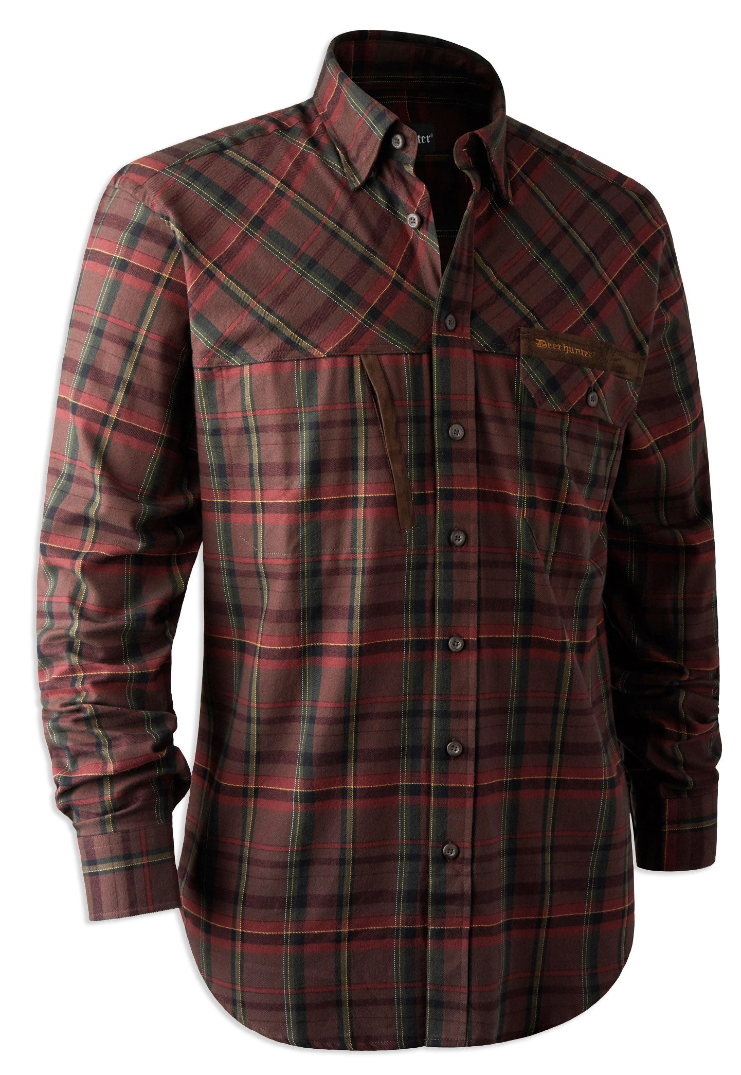 e5e5756a80729 Deerhunter Rhett Check Hunting Shirt – Hollands Country Clothing