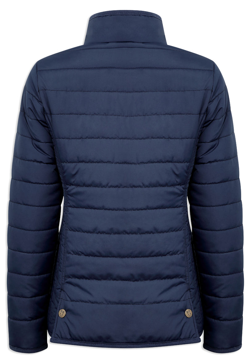 rear view Champion Roseland Quilted Jacket