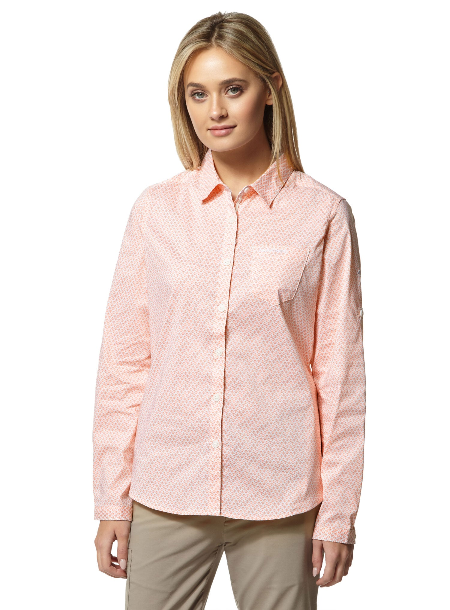 Ladies Verona Shirt by Craghoppers in rosette