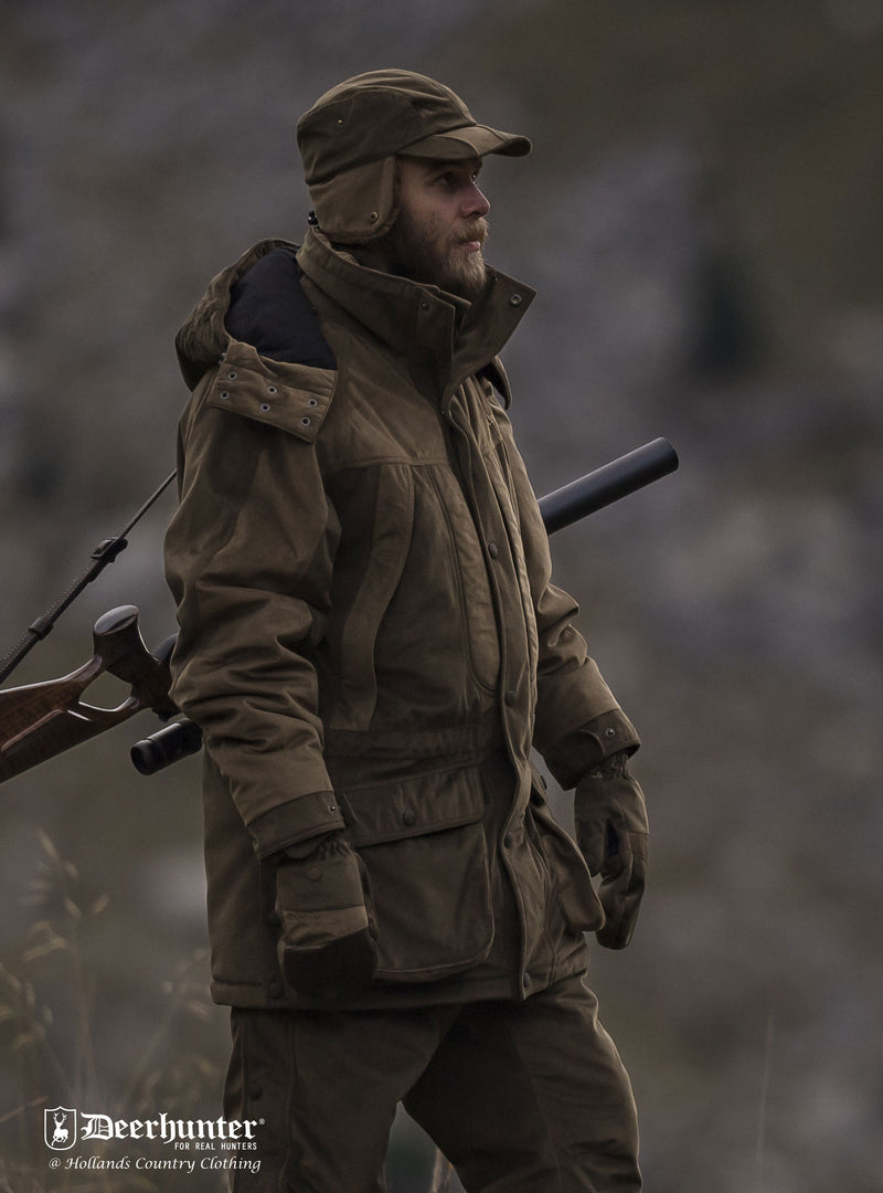Winter shooting outfit Rusky Winter Hat Deer-Tex Performance Shell
