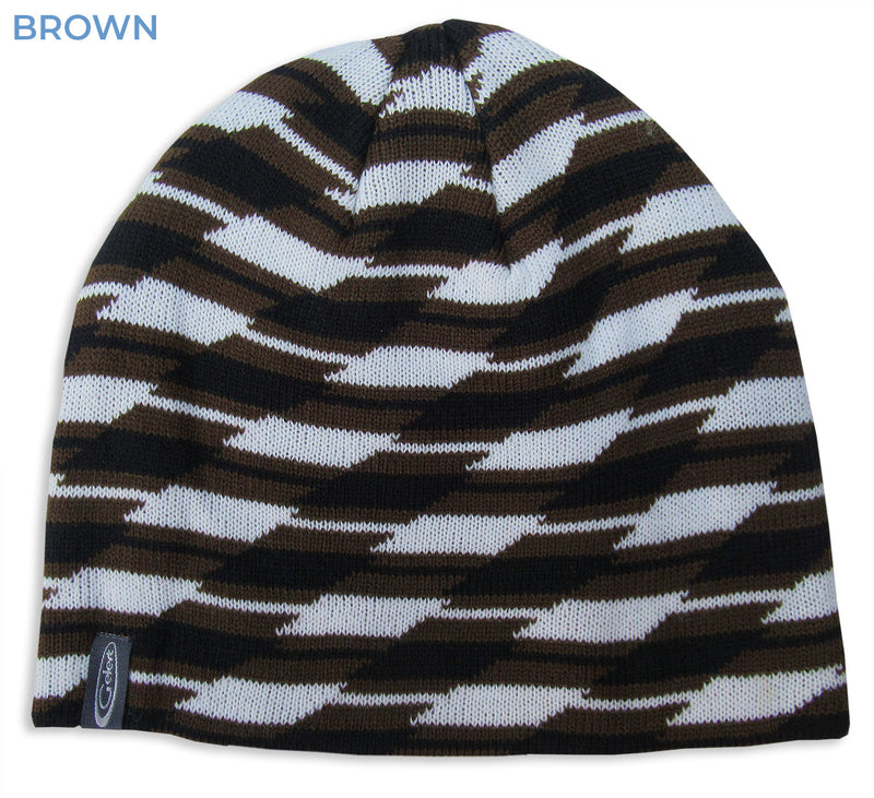 Brown Snowboarder hat
