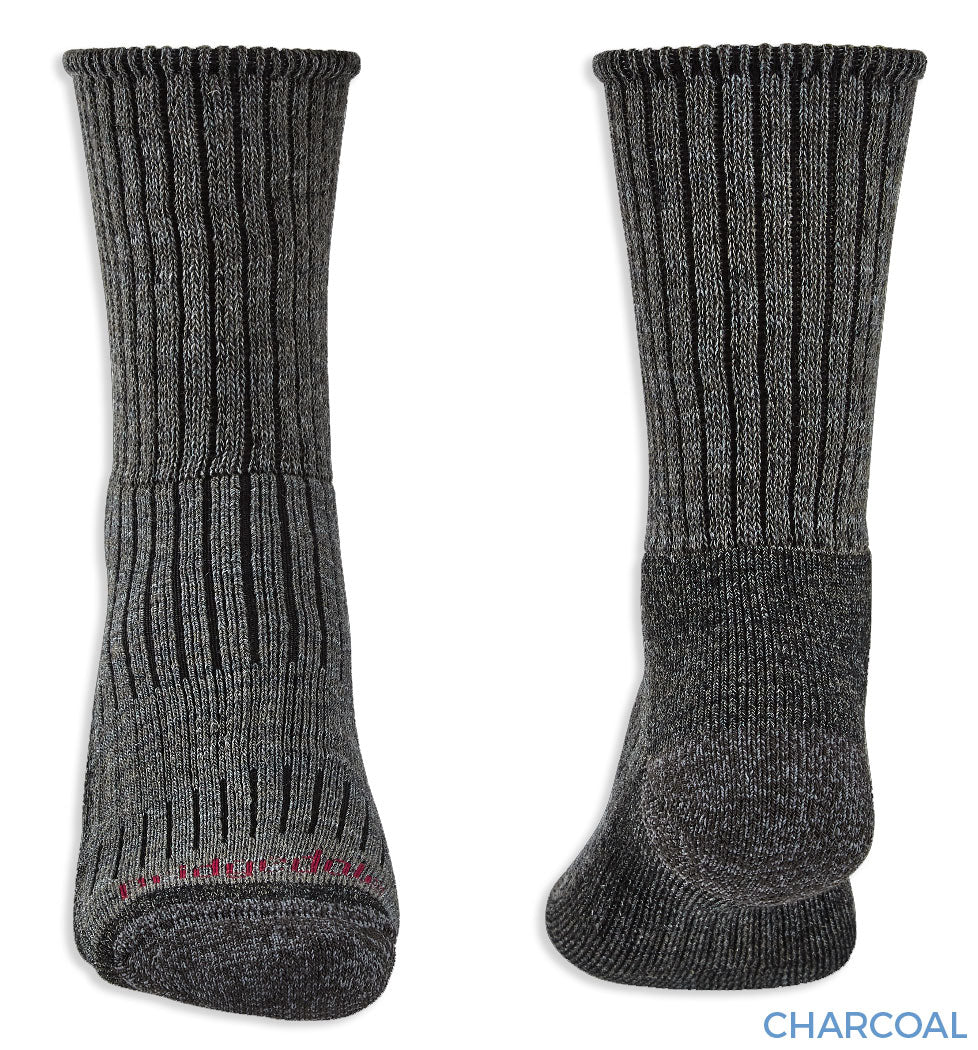 Ribbed Bridgedale Hike Midweight Comfort Sock