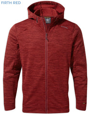 Firth Red Craghoppers Strata Hoodie