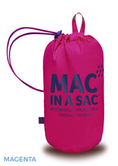 Magenta Mac In A Sac Origin Waterproof Packaway