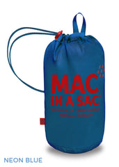 electric blue Mac In A Sac Origin Waterproof Packaway