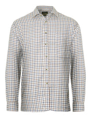 brown Champion Salisbury Country Check Shirt tttersall