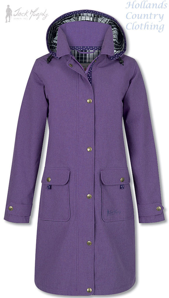 Jack Murphy Sarah Ladies Mid Length Waterproof Coat