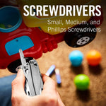 Screwdrivers, phillips screw medium small
