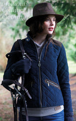 lady wearing Jack Murphy Selena Ladies Quilted Jacket