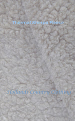 thick wool type fleece ling for shirt