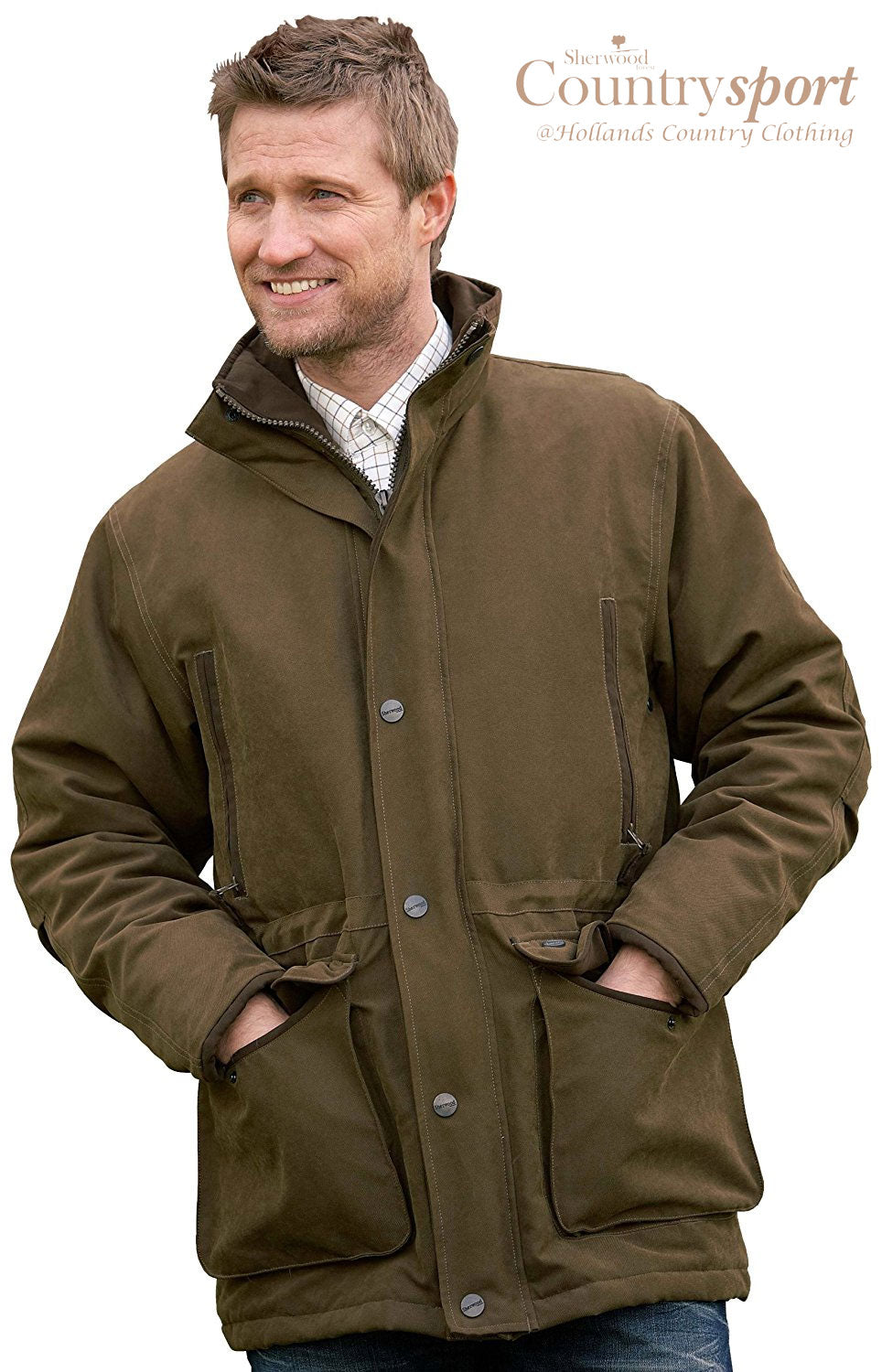waterproof Sherwood Forest Gadwall Jacket