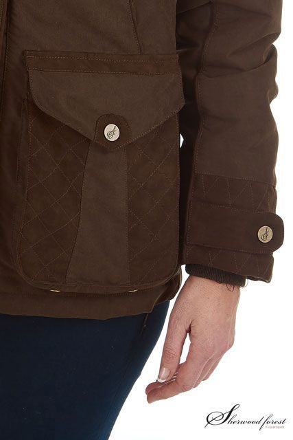quilted pocket detail Marton Ladies Country Sports Jacket