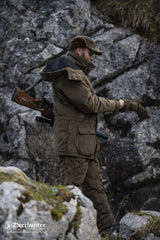 Shooting outfit Rusky Bib and Brace Trousers by Deerhunter