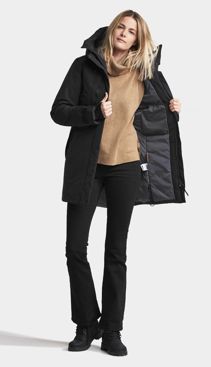 coat opn Didriksons Ladies Silje Waterproof Winter Coat