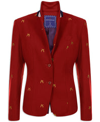 Sporting Hares Beauchamp Blazer | Huntsman Red